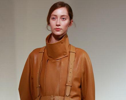 Hermes - cappotto di pelle