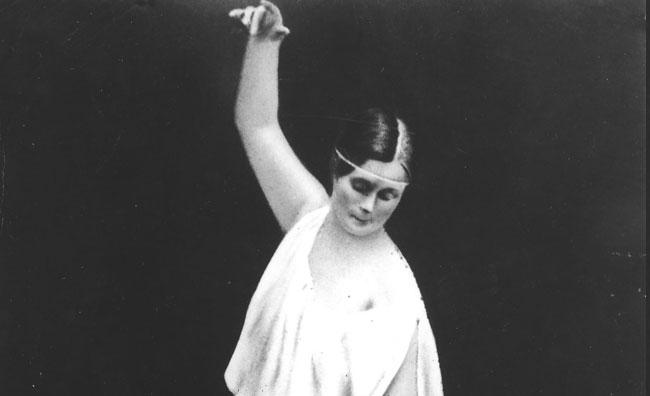 Vionnet omaggia Isadora Duncan