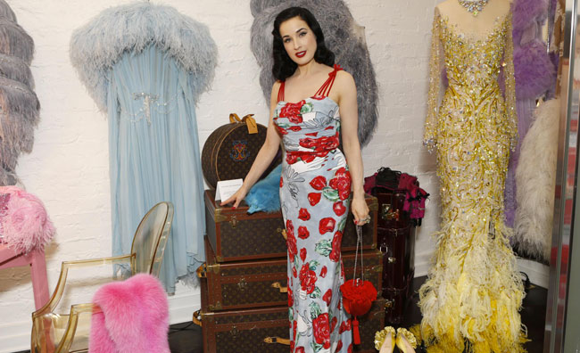 Dita Von Teese abbandona il burlesque