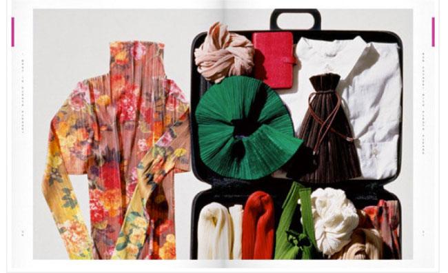 Pleats Please, il fashion book di Issey Miyake