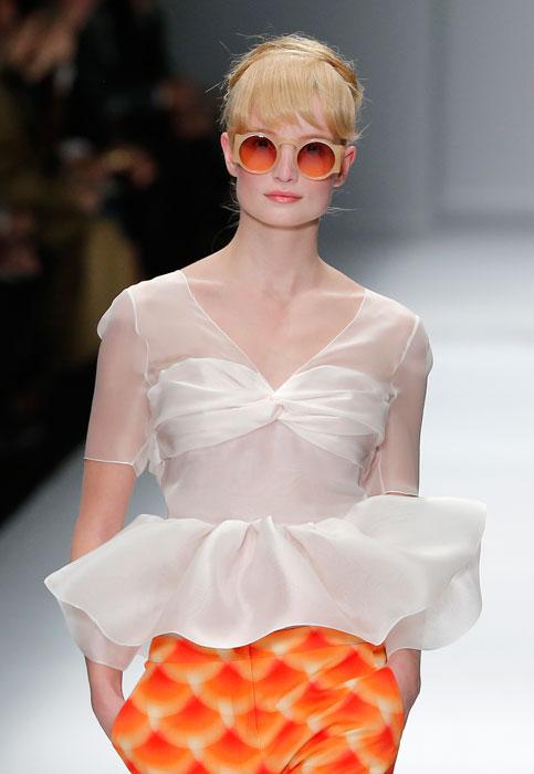Cacharel - occhiali da sole con lenti arancioni