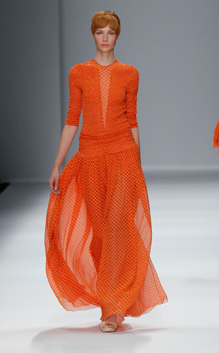 Cacharel - abito lungo arancione