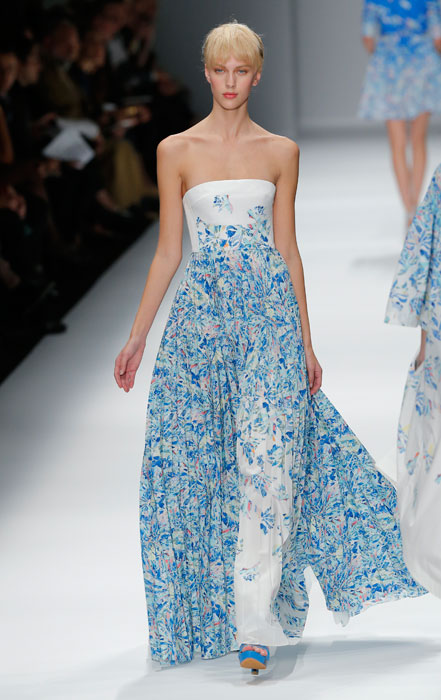 Cacharel - abito lungo floreale