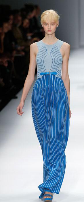 Cacharel - abito lungo blu