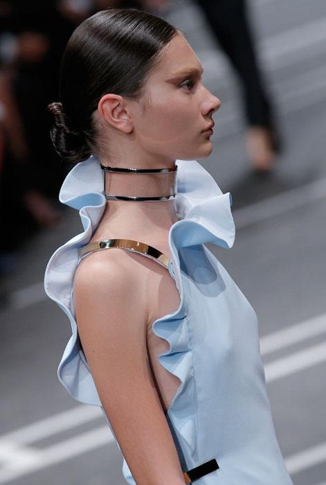 Givenchy - spallina argento