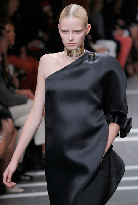 Givenchy - abito monospalla nero