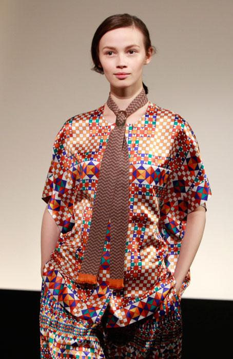 Hermes - cravatta marrone