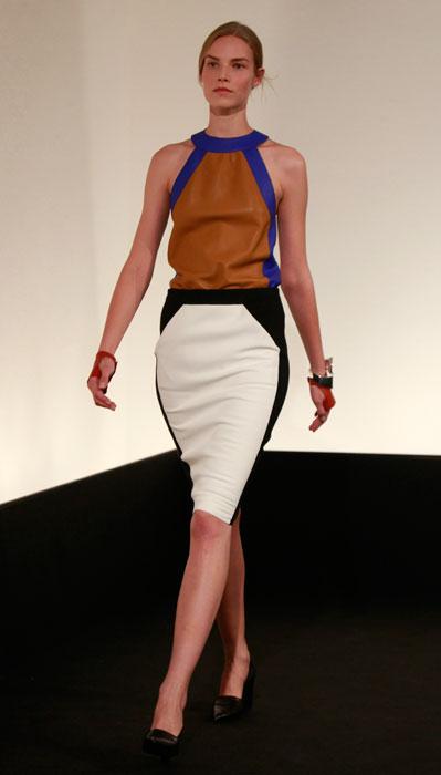 Hermes - abito con gonna bianca