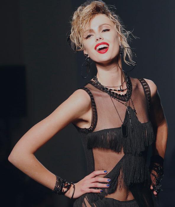 Le icone del pop anni '80 sfilano per Gaultier