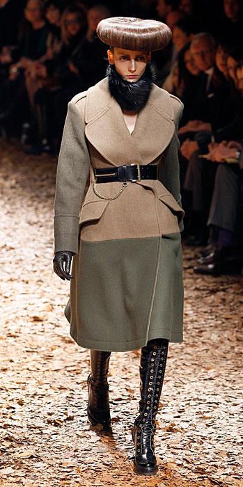 Cappotto militare Alexander McQueen