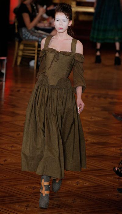 Vivienne Westwood - abito verde oliva
