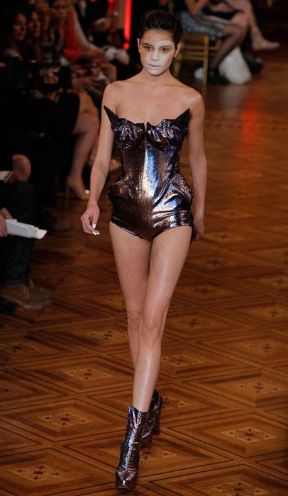 Vivienne Westwood - stivaletto con tacco