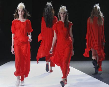 Yohji Yamamoto - Abito rosso