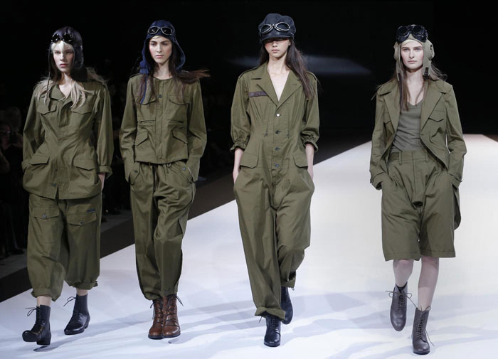 Yohji Yamamoto - Completi verde militare