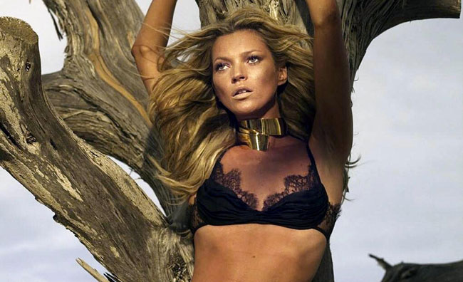 Il corpo di Kate Moss è un'opera d'arte