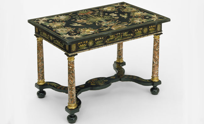 Table from Warwick Castle