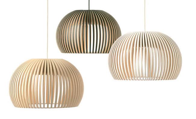 Mille forme per un solo materiale, il legno