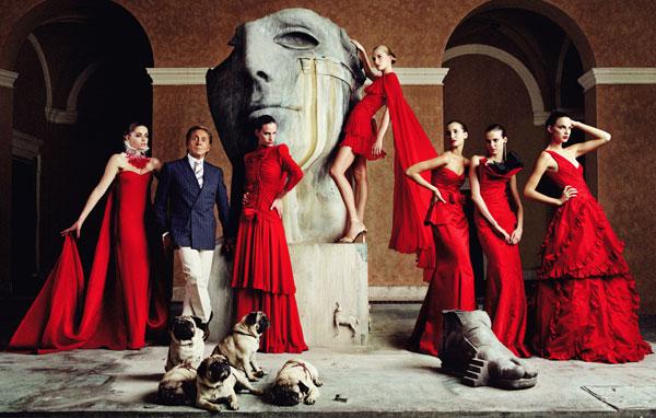 La storia dell'alta moda: Valentino