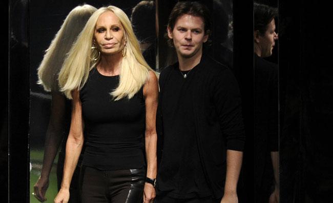 Donatella Versace e Christopher Kane