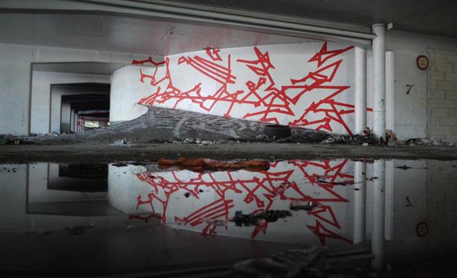 I graffiti invadono il Palais de Tokyo