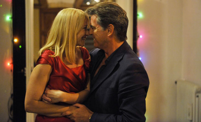 Pierce Brosnan Love is all you need