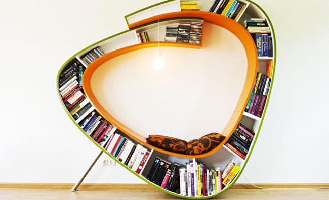 Bookshelf Porn: lo scaffale è un'opera d'arte