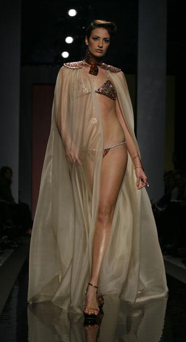 Bikini con capospalla Gattinoni