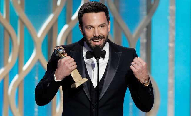 Ben Affleck e il suo 'Argo' sbancano i Golden Globe