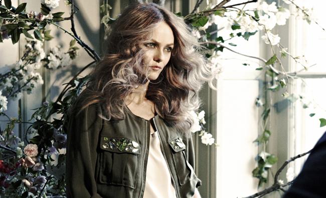 Vanessa Paradis è il nuovo volto H&M
