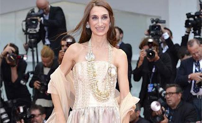 Gisela Volodi - abito Camillo Bona