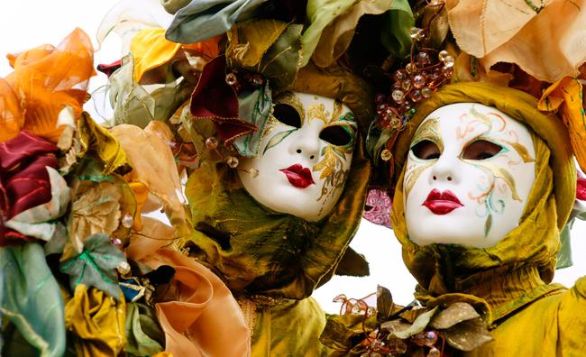 L'Italia in maschera: gli eventi del Carnevale 2013