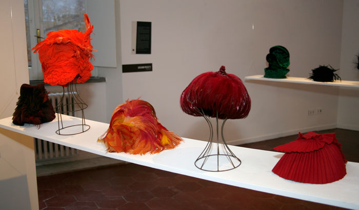Esposizione cappelli Altalen