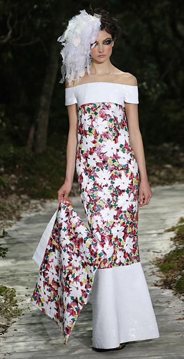 Chanel haute couture PE 2013