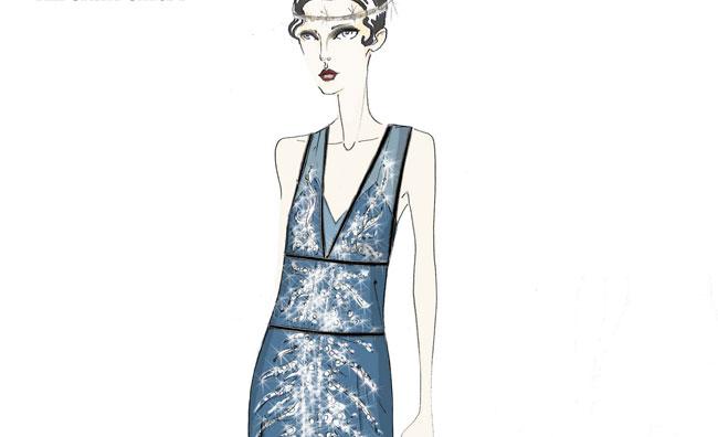 Cocktail dresses da Grande Gatsby