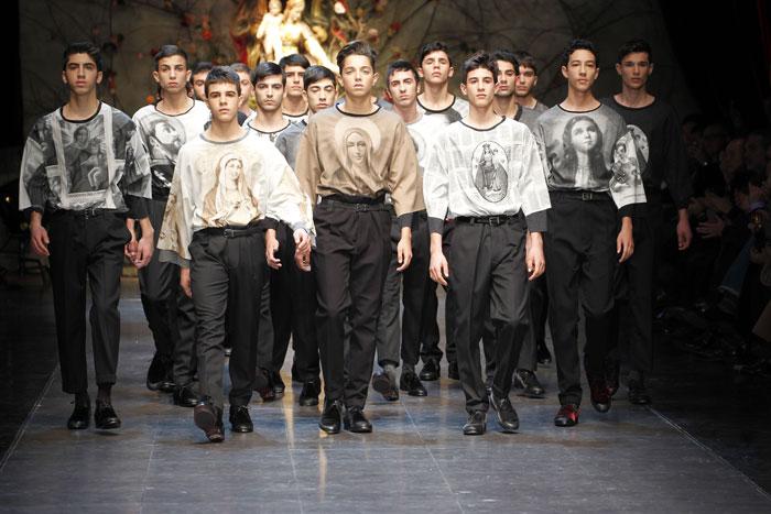 Sfilata Dolce e Gabbana