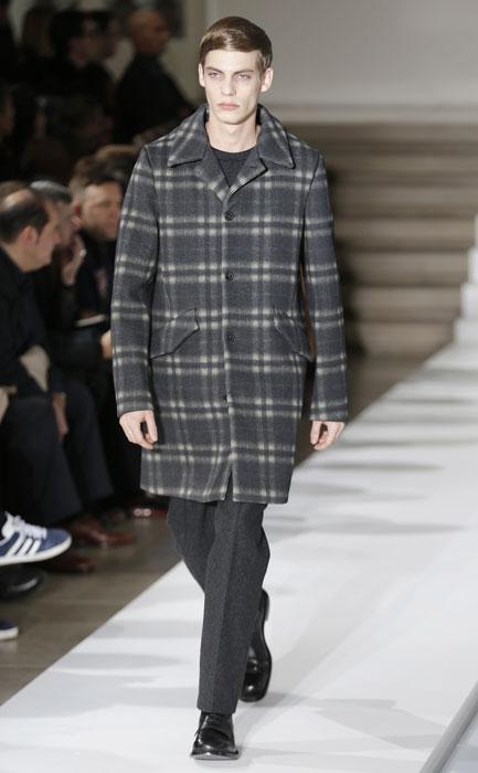 Cappotto scozzese Jil Sander