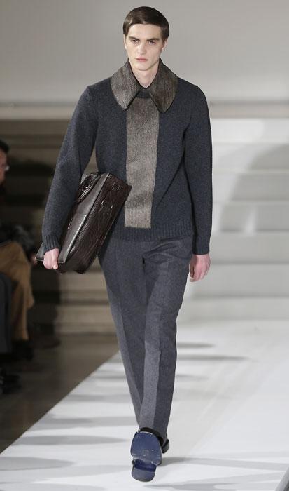 Maglione con collo ampio Jil Sander