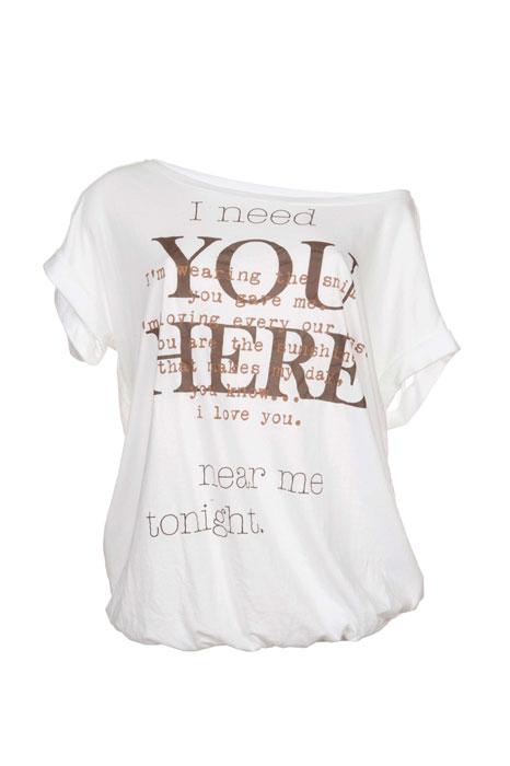 T-shirt oversize Dimensione Danza
