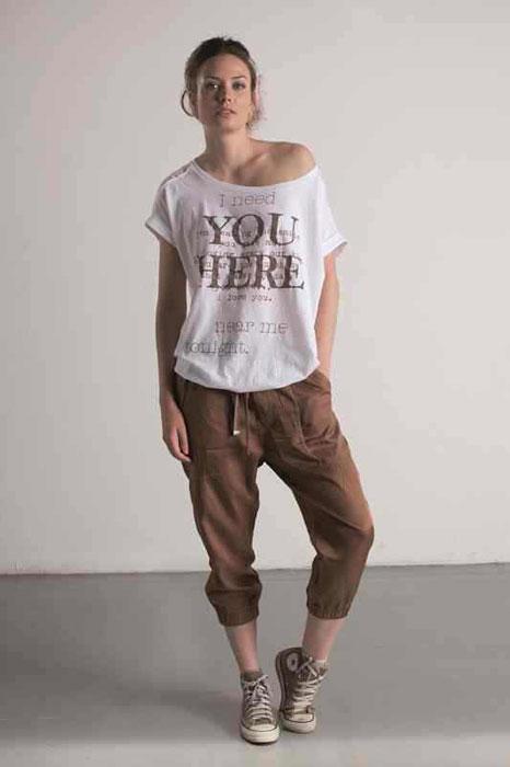 T-shirt e pantaloni tre quarti Dimensione Danza