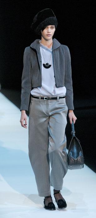 finest selection 7439b 5e7c9 La donna garçonne di Giorgio Armani - www.stile.it