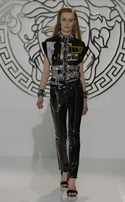 Sfilata Versace AI 2013 2014