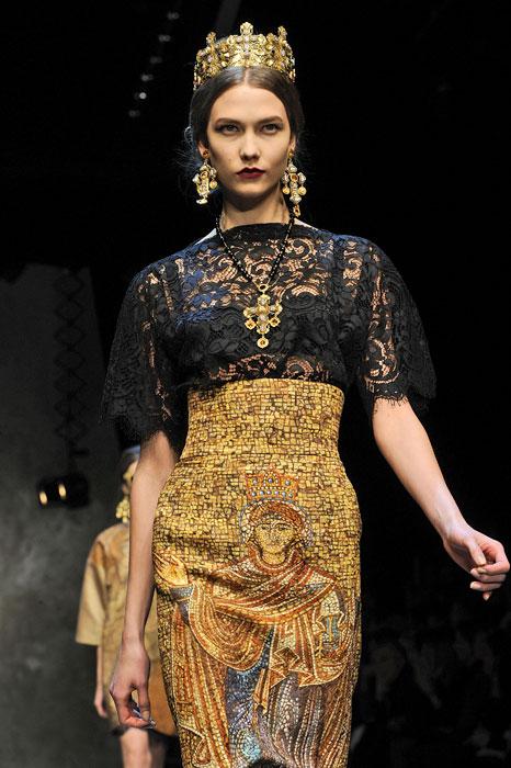 Gonna e top Dolce &Gabbana