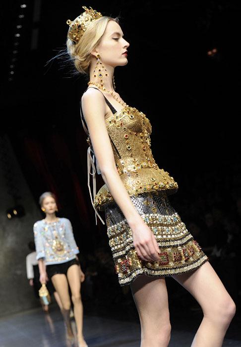 Mini gonna e top Dolce &Gabbana