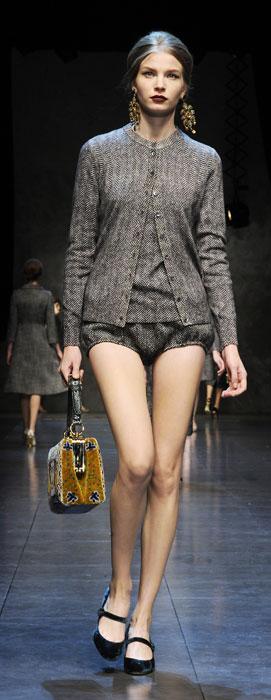 Shorts e cardigan Dolce &Gabbana