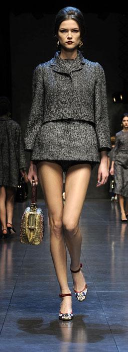 Giacca e shorts Dolce &Gabbana