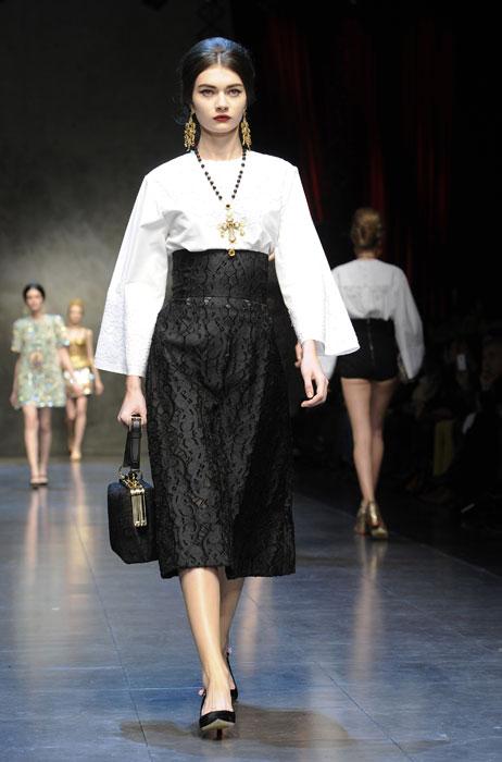 Gonna e blusa Dolce &Gabbana