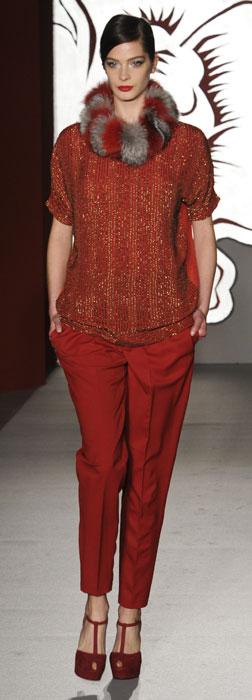 Pantaloni e maglia Paola Frani