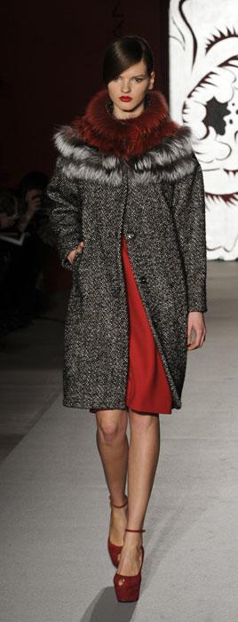 Cappotto su vestito Paola Frani