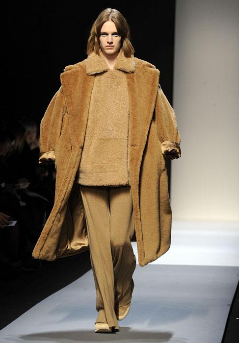 Cappotto, felpa e pantaloni Max Mara