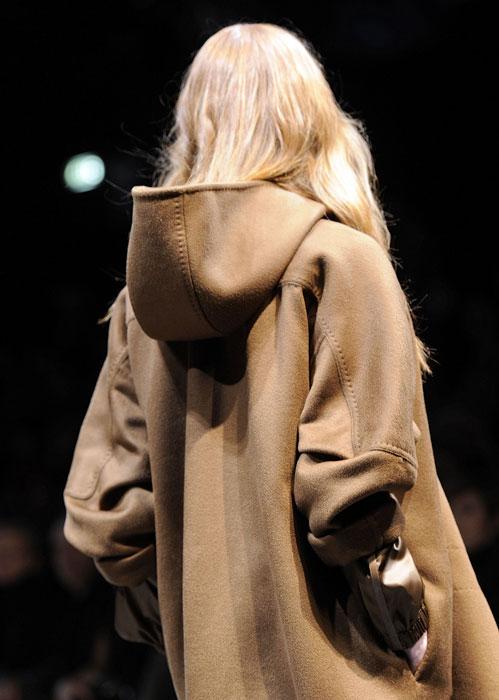 Dettaglio cappotto Max Mara